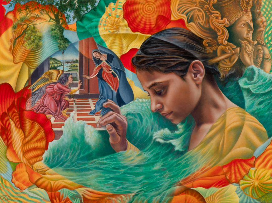 India painting